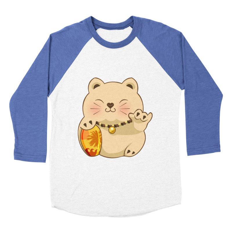 Lucky Shaka Men's Baseball Triblend T-Shirt by anishacreations's Artist Shop