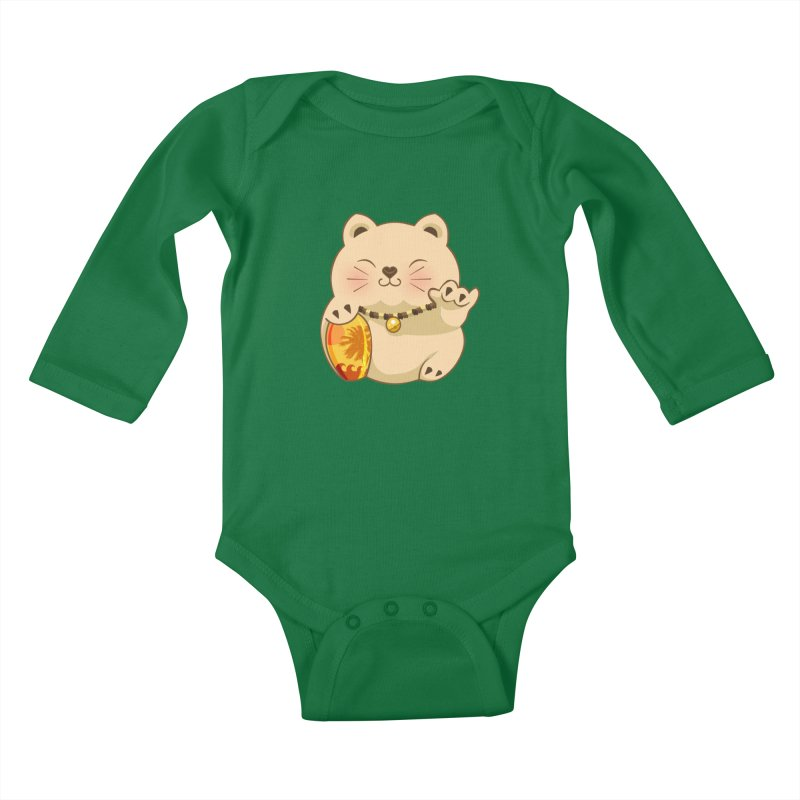 Lucky Shaka Kids Baby Longsleeve Bodysuit by anishacreations's Artist Shop