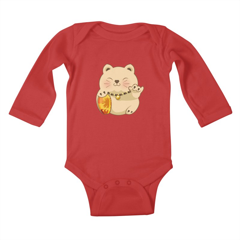 Lucky Shaka Kids Baby Longsleeve Bodysuit by anishacreations's Artist Shop