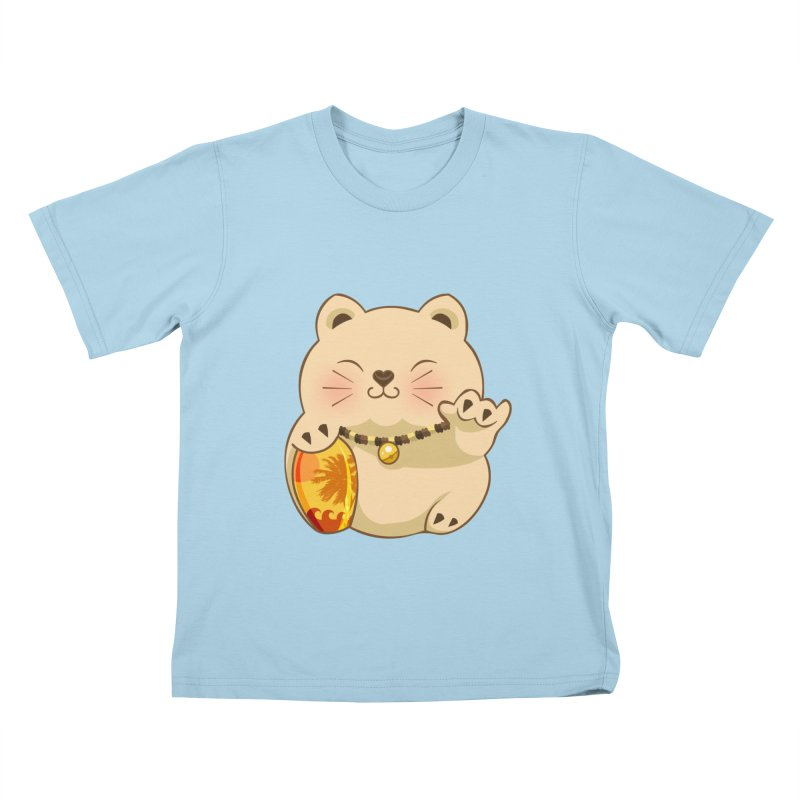 Lucky Shaka Kids T-Shirt by anishacreations's Artist Shop
