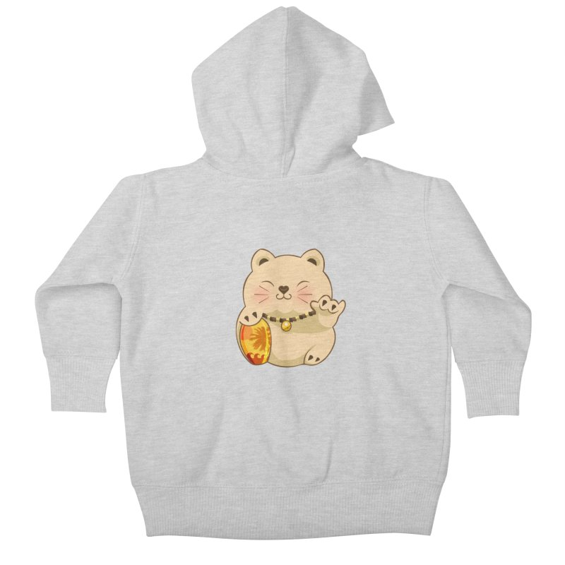Lucky Shaka Kids Baby Zip-Up Hoody by anishacreations's Artist Shop