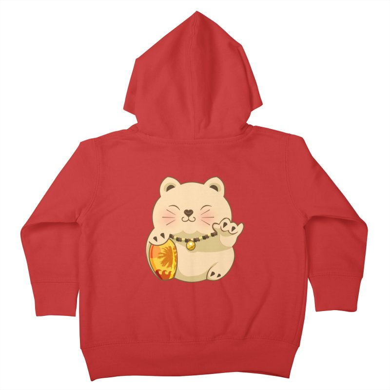 Lucky Shaka Kids Toddler Zip-Up Hoody by anishacreations's Artist Shop