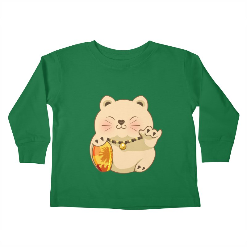 Lucky Shaka Kids Toddler Longsleeve T-Shirt by anishacreations's Artist Shop