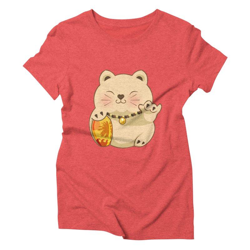 Lucky Shaka Women's Triblend T-shirt by anishacreations's Artist Shop
