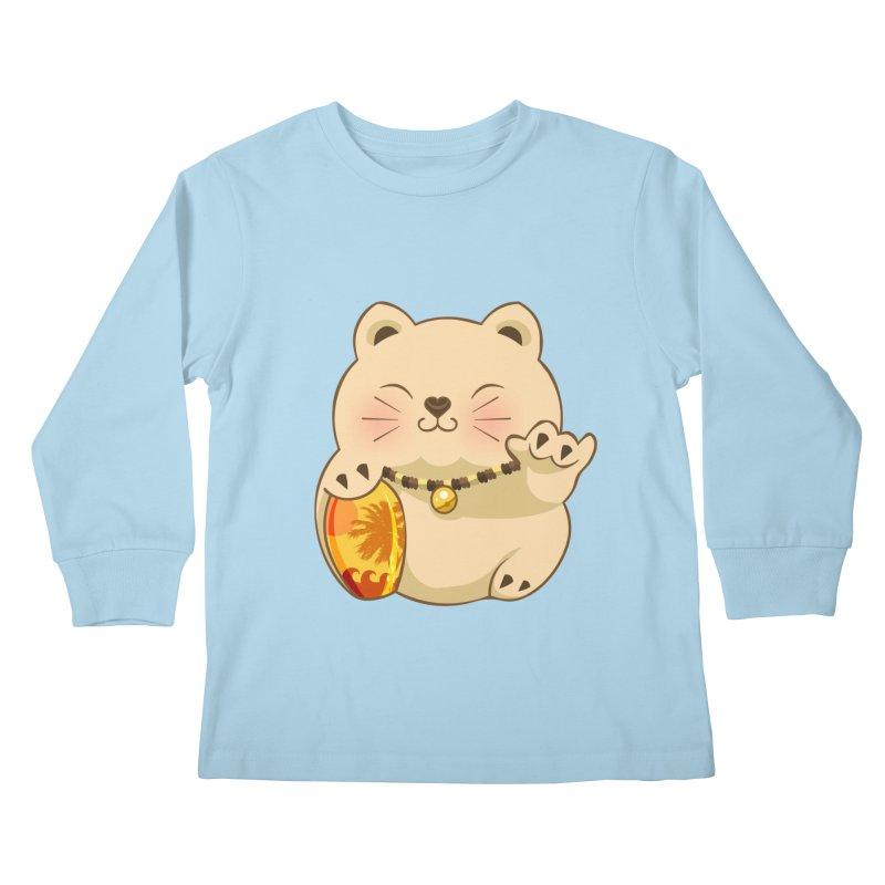 Lucky Shaka Kids Longsleeve T-Shirt by anishacreations's Artist Shop