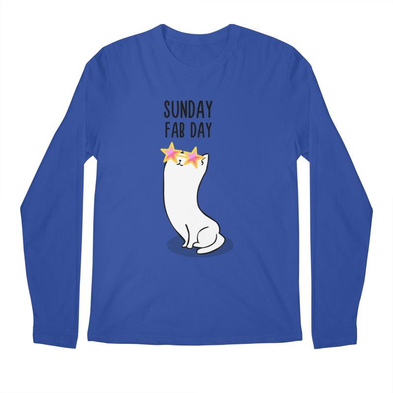 Sunday Fab Day Men's Regular Longsleeve T-Shirt by anishacreations's Artist Shop