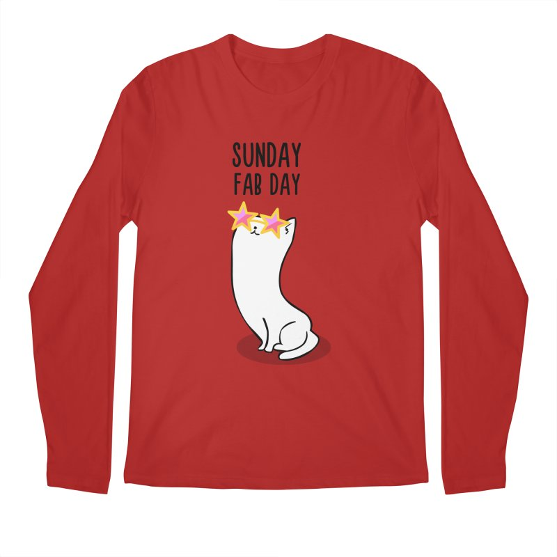 Sunday Fab Day Men's Longsleeve T-Shirt by anishacreations's Artist Shop