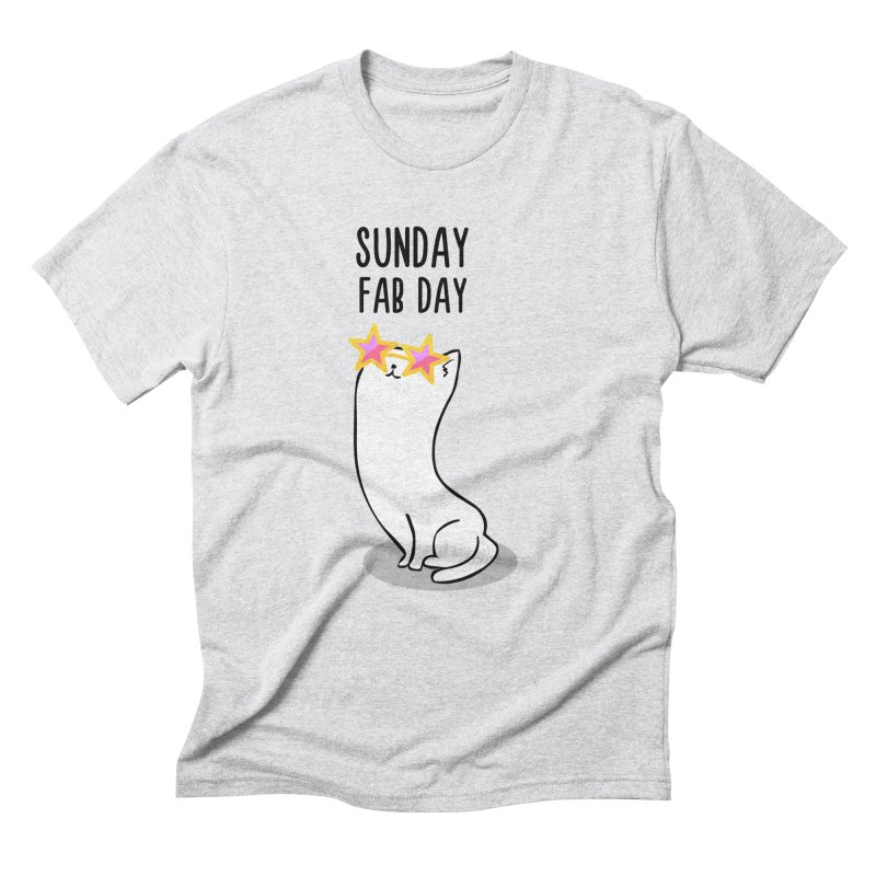 Sunday Fab Day Men's Triblend T-Shirt by anishacreations's Artist Shop