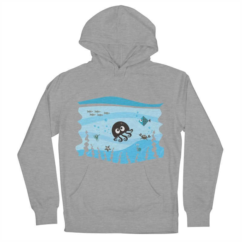 Under the sea Women's French Terry Pullover Hoody by anishacreations's Artist Shop