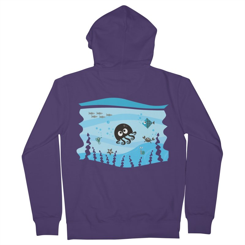 Under the sea Women's Zip-Up Hoody by anishacreations's Artist Shop