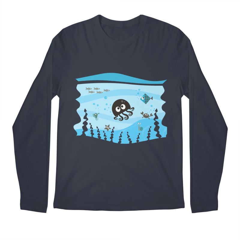 Under the sea Men's Longsleeve T-Shirt by anishacreations's Artist Shop