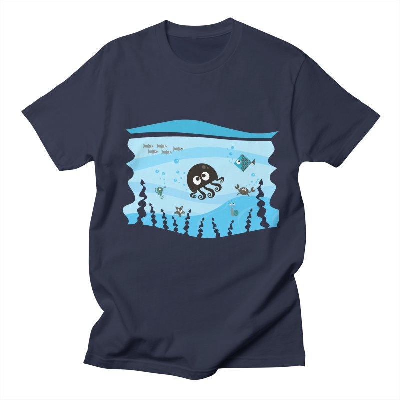 Under the sea Men's T-shirt by anishacreations's Artist Shop