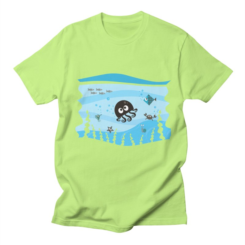Under the sea Men's Regular T-Shirt by anishacreations's Artist Shop