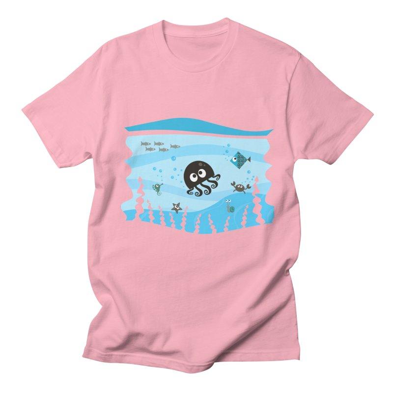 Under the sea Men's Regular T-Shirt by anishacreations's Artist Shop