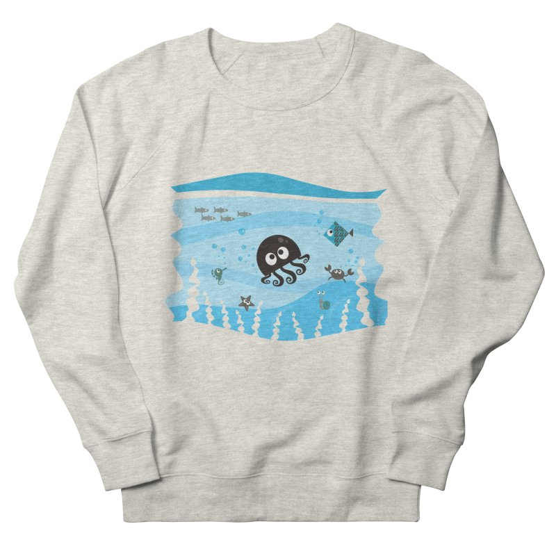 Under the sea Women's French Terry Sweatshirt by anishacreations's Artist Shop