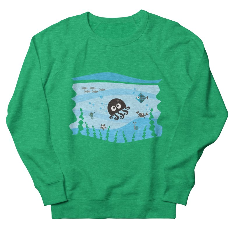 Under the sea Men's Sweatshirt by anishacreations's Artist Shop