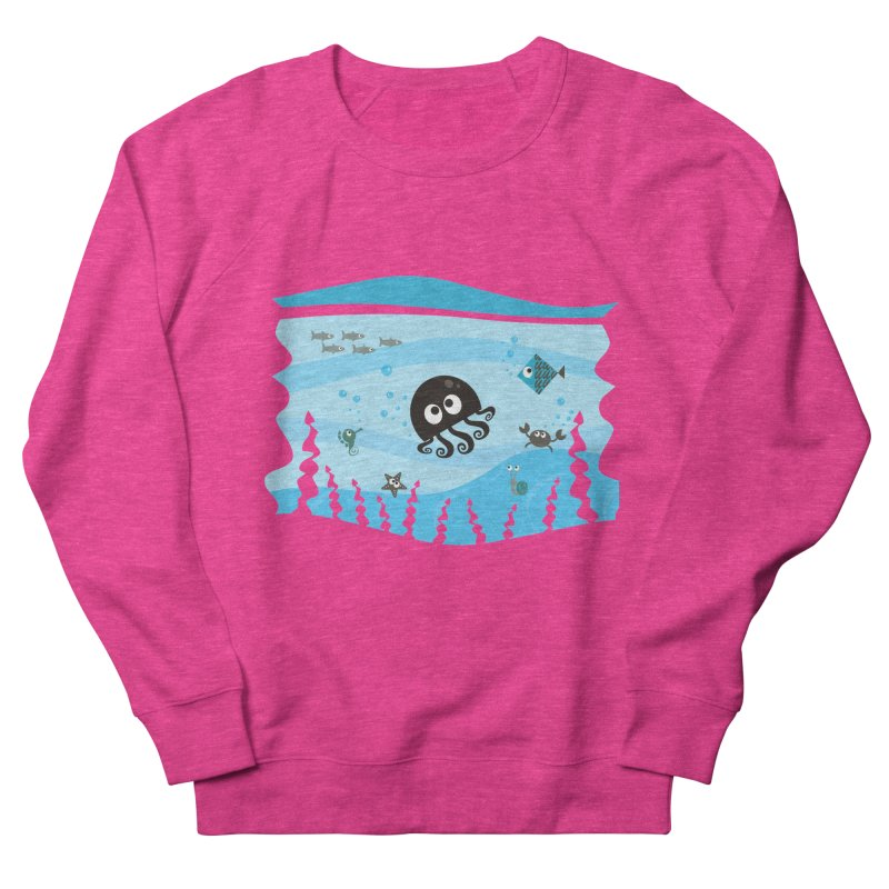 Under the sea Men's French Terry Sweatshirt by anishacreations's Artist Shop
