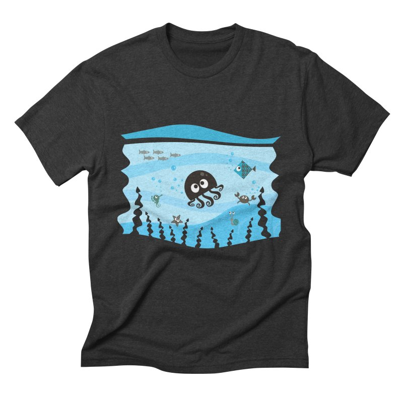 Under the sea Men's Triblend T-Shirt by anishacreations's Artist Shop