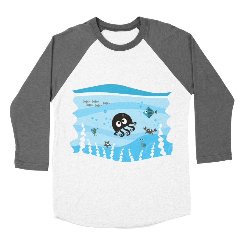 Under the sea Women's Baseball Triblend Longsleeve T-Shirt by anishacreations's Artist Shop