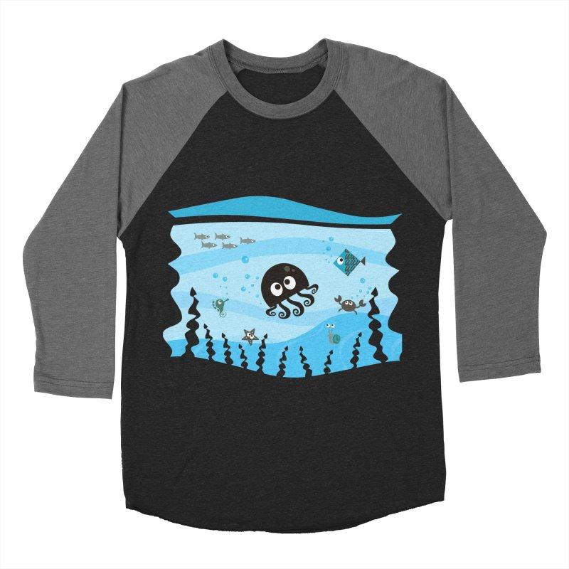 Under the sea Women's Baseball Triblend T-Shirt by anishacreations's Artist Shop