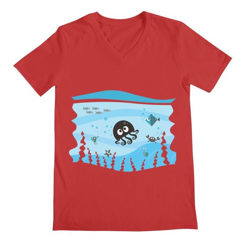 Under the sea Men's V-Neck by anishacreations's Artist Shop