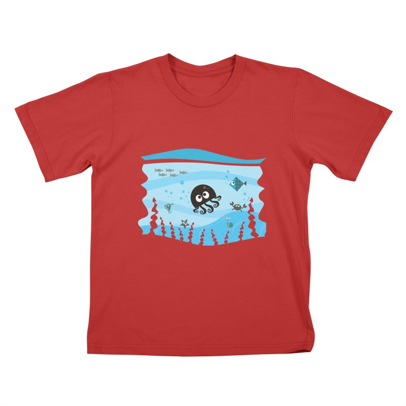 Under the sea Kids T-Shirt by anishacreations's Artist Shop