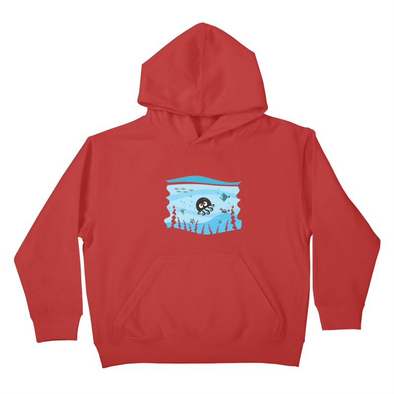 Under the sea Kids Pullover Hoody by anishacreations's Artist Shop