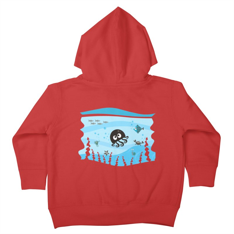 Under the sea Kids Toddler Zip-Up Hoody by anishacreations's Artist Shop