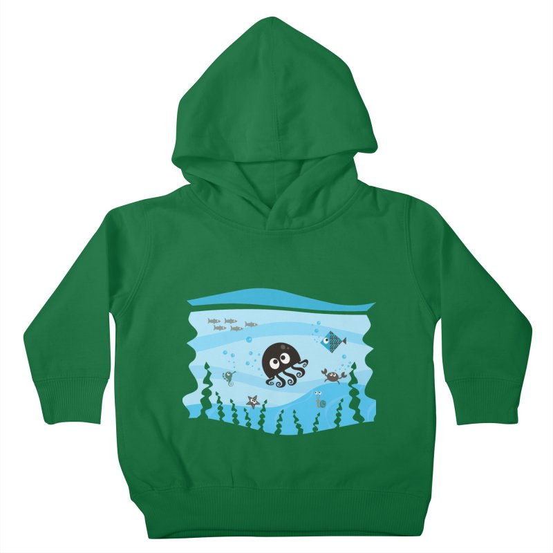 Under the sea Kids Toddler Pullover Hoody by anishacreations's Artist Shop