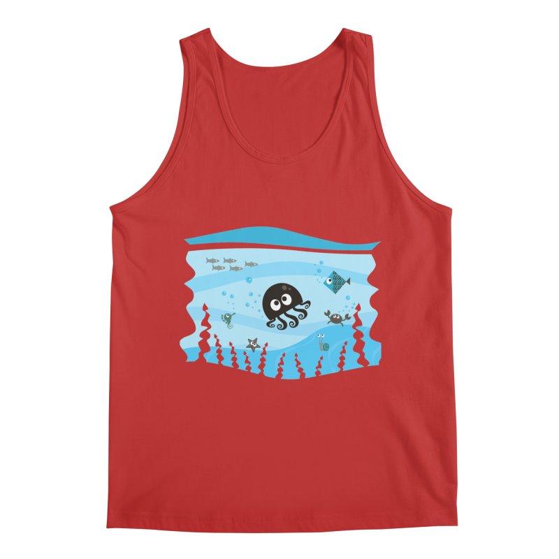 Under the sea Men's Regular Tank by anishacreations's Artist Shop