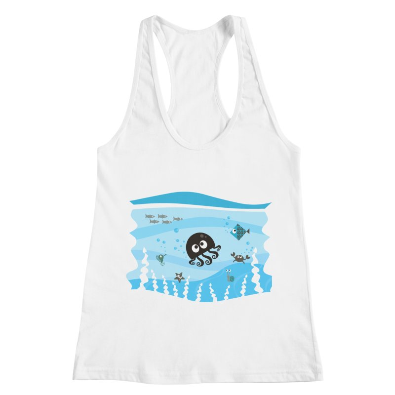 Under the sea Women's Racerback Tank by anishacreations's Artist Shop
