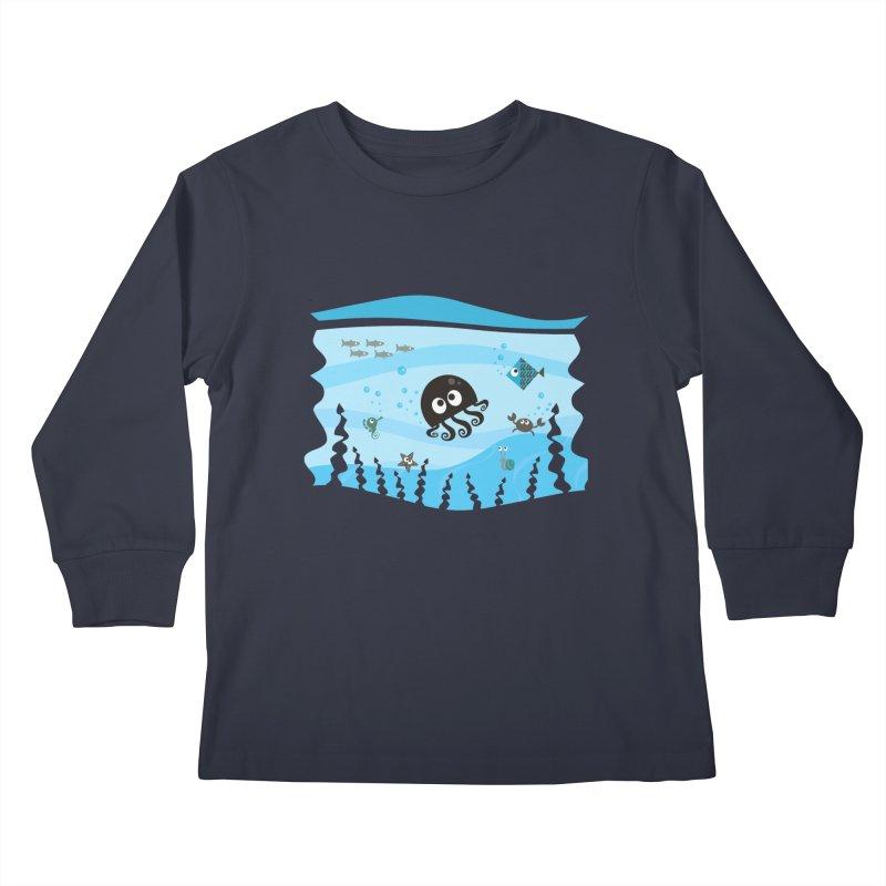Under the sea Kids Longsleeve T-Shirt by anishacreations's Artist Shop