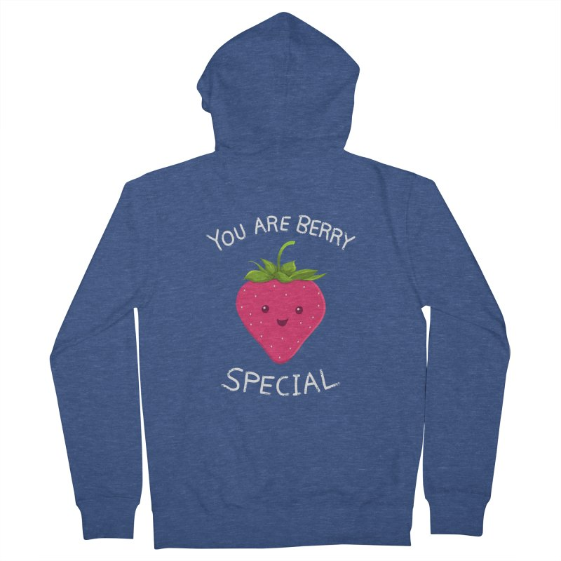 Fruity Truth Men's French Terry Zip-Up Hoody by anishacreations's Artist Shop