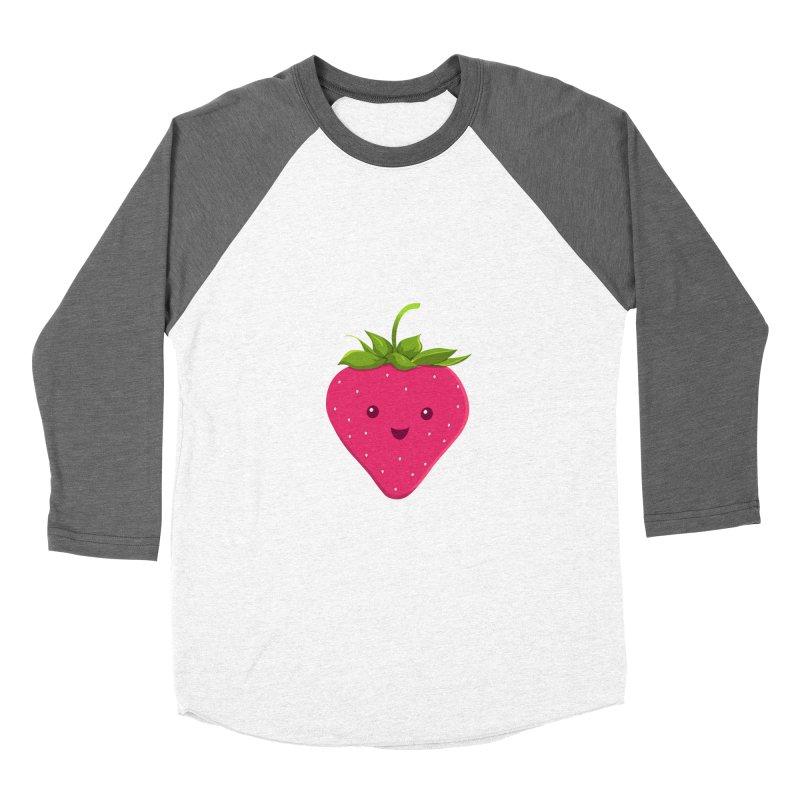 Fruity Truth Men's Baseball Triblend T-Shirt by anishacreations's Artist Shop