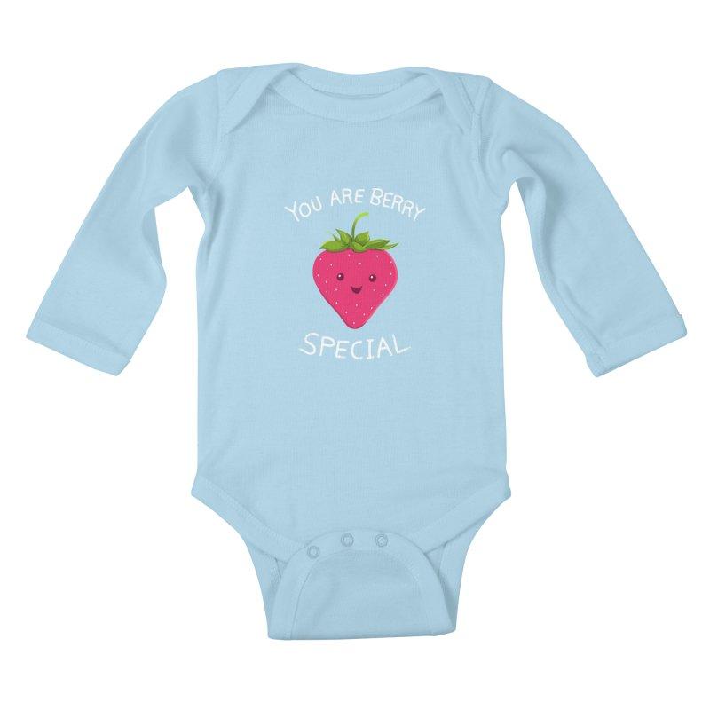 Fruity Truth Kids Baby Longsleeve Bodysuit by anishacreations's Artist Shop