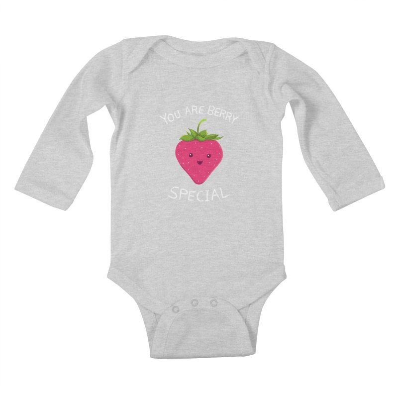 Fruity Truth Kids Baby Longsleeve Bodysuit by anishacreations's Artist Shop