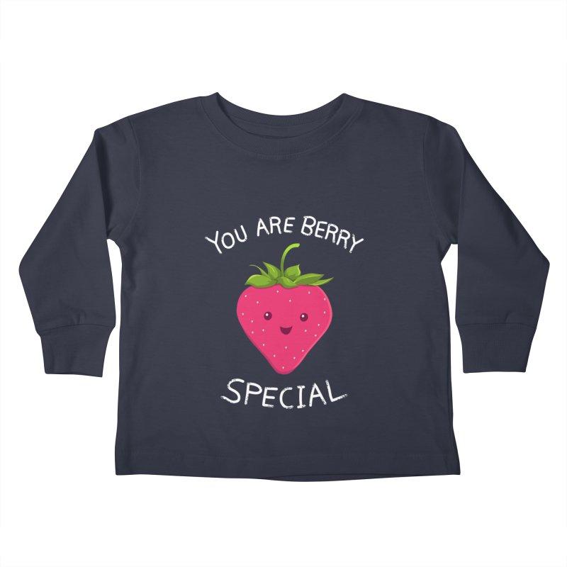 Fruity Truth Kids Toddler Longsleeve T-Shirt by anishacreations's Artist Shop