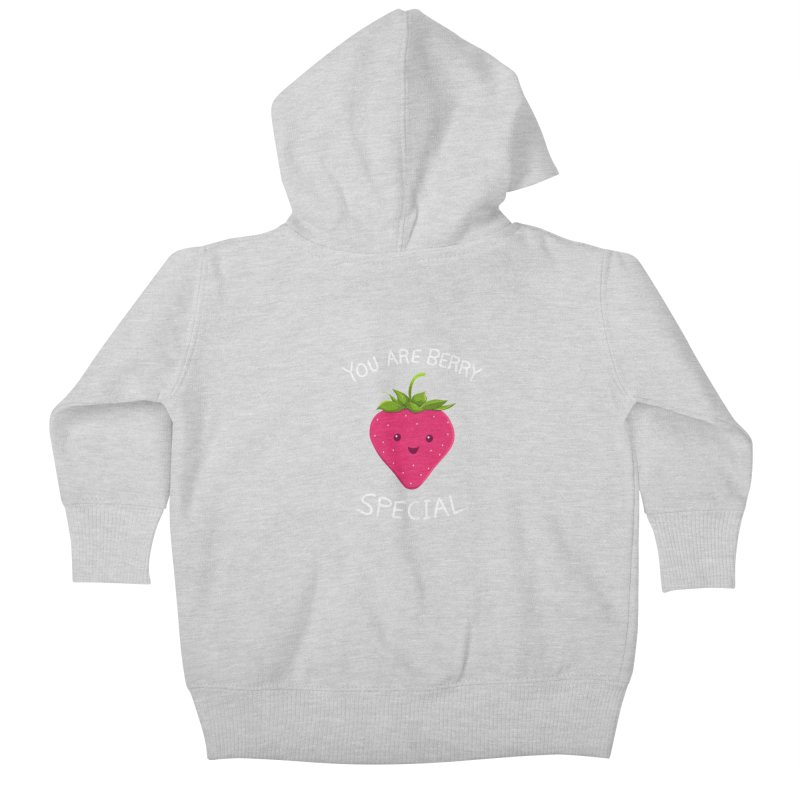 Fruity Truth Kids Baby Zip-Up Hoody by anishacreations's Artist Shop