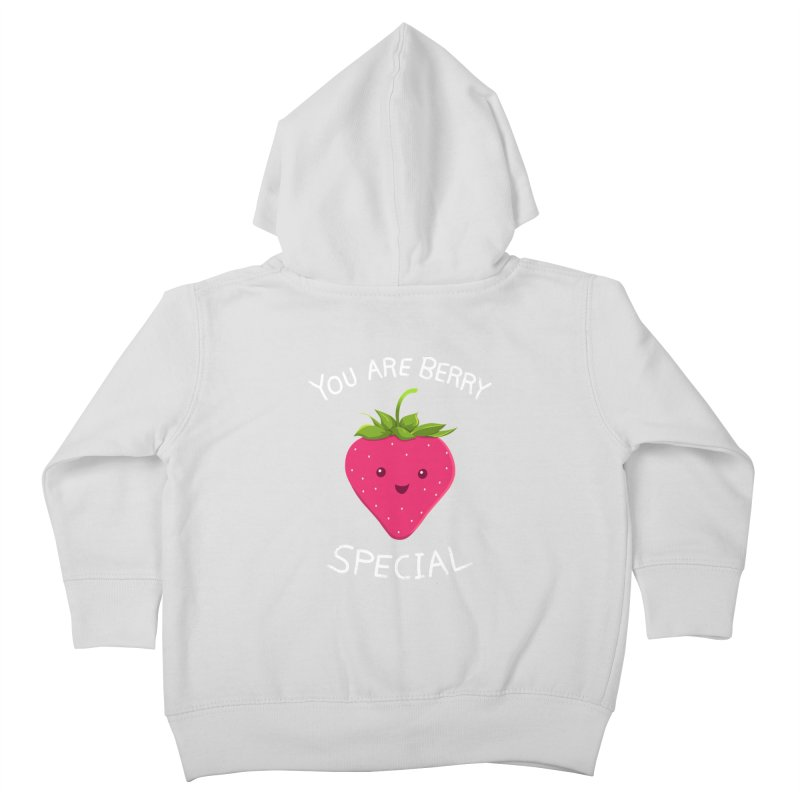 Fruity Truth Kids Toddler Zip-Up Hoody by anishacreations's Artist Shop