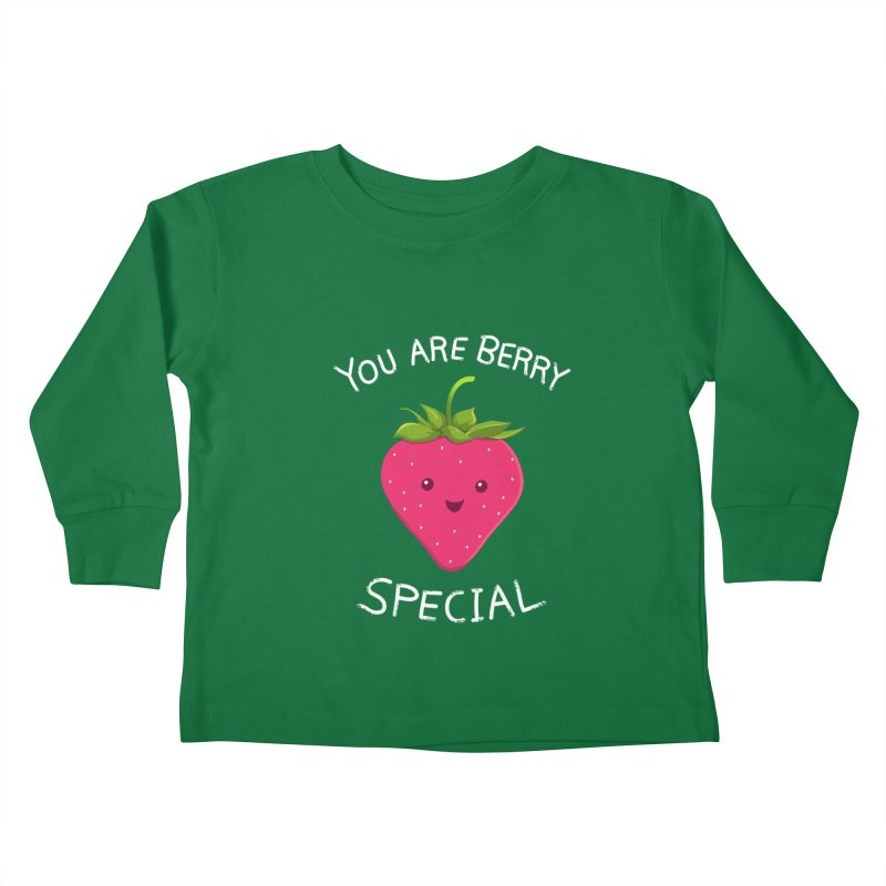Fruity Truth Kids Toddler Longsleeve T-Shirt by anishacreations's Artist Shop