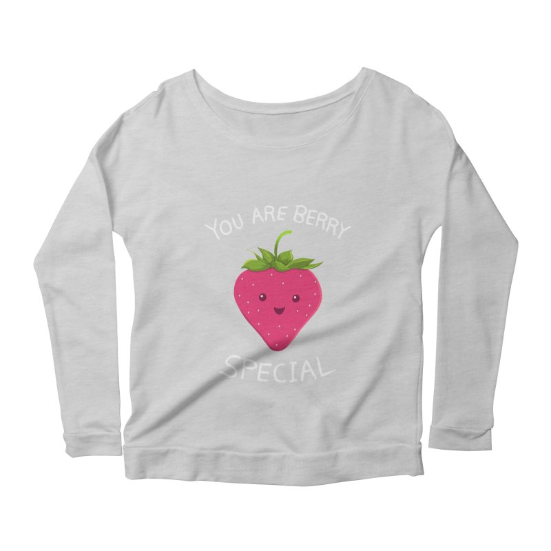 Fruity Truth Women's Scoop Neck Longsleeve T-Shirt by anishacreations's Artist Shop