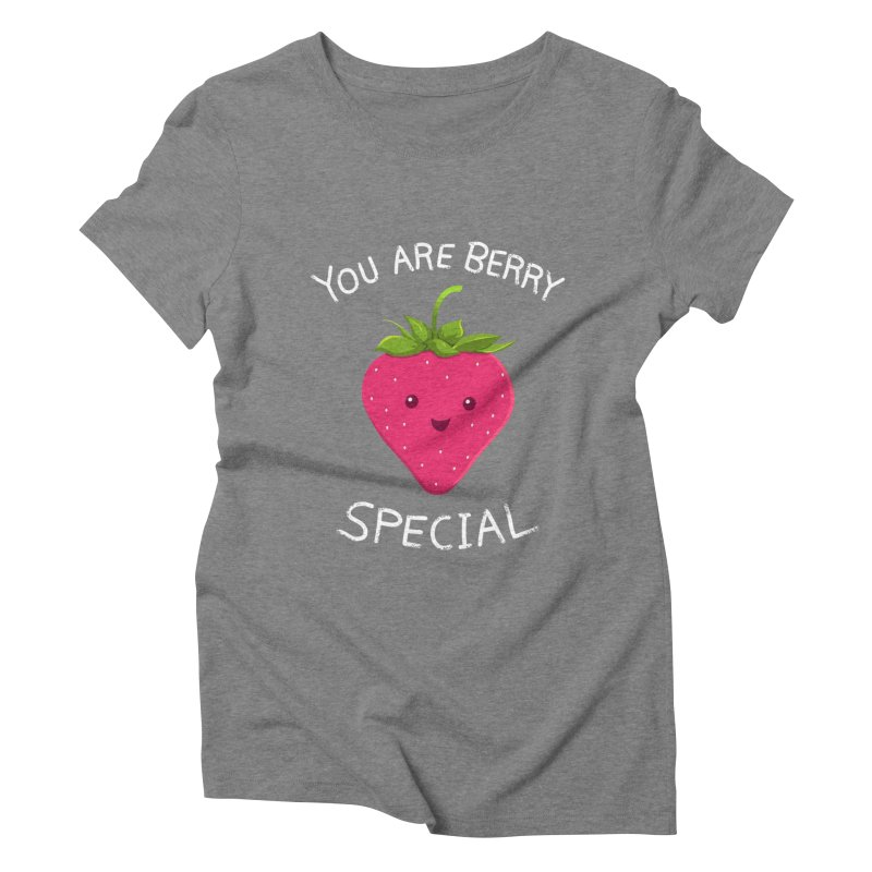 Fruity Truth Women's Triblend T-Shirt by anishacreations's Artist Shop