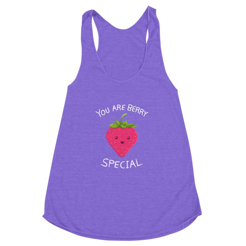 Fruity Truth Women's Racerback Triblend Tank by anishacreations's Artist Shop