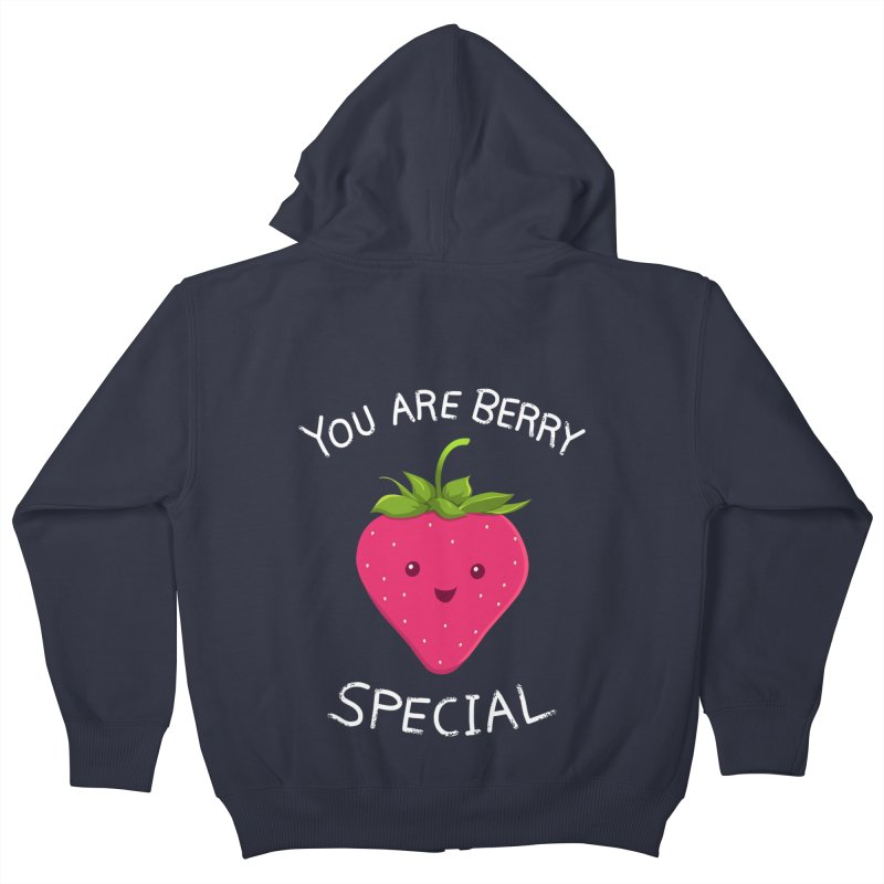 Fruity Truth Kids Zip-Up Hoody by anishacreations's Artist Shop