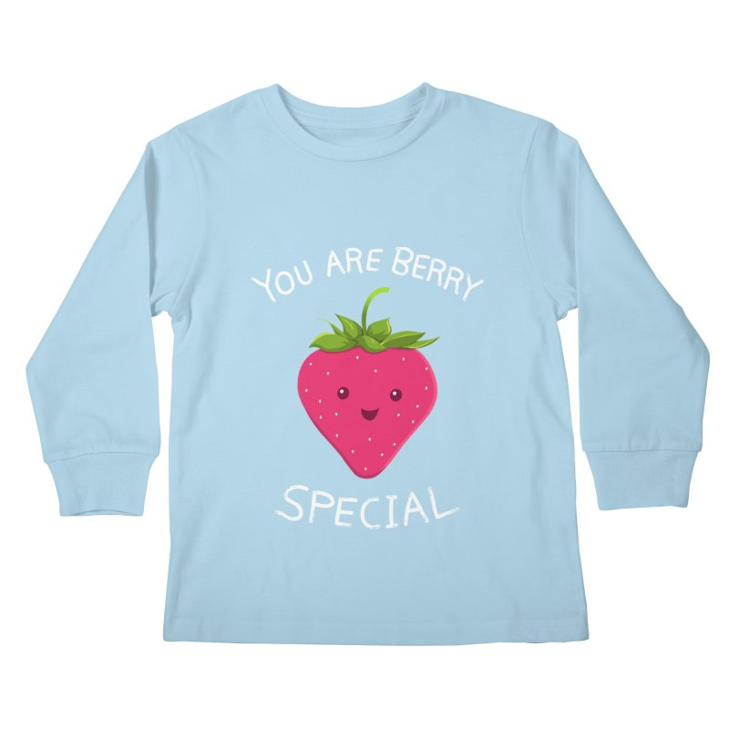 Fruity Truth Kids Longsleeve T-Shirt by anishacreations's Artist Shop