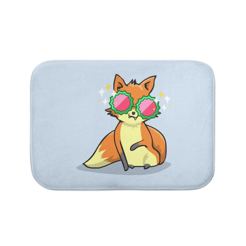 Foxy & Fabulous Home Bath Mat by anishacreations's Artist Shop