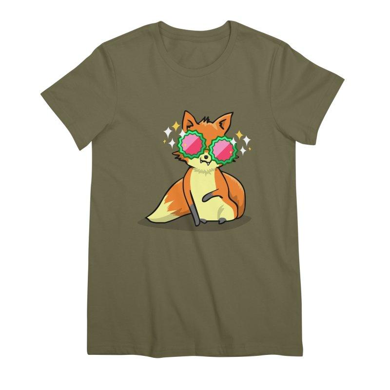 Foxy & Fabulous Women's Premium T-Shirt by anishacreations's Artist Shop