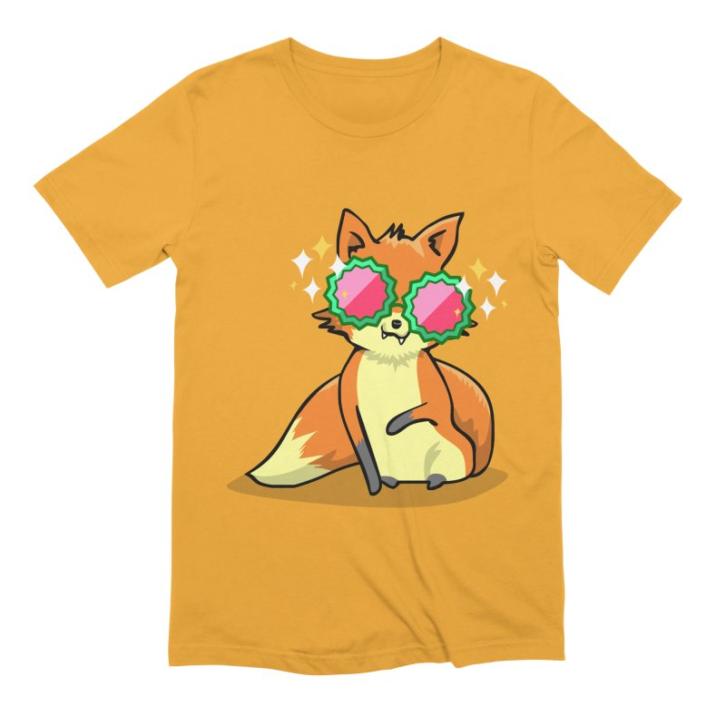 Foxy & Fabulous Men's Extra Soft T-Shirt by anishacreations's Artist Shop