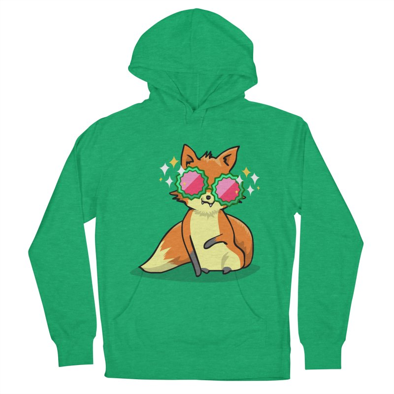 Foxy & Fabulous Women's French Terry Pullover Hoody by anishacreations's Artist Shop