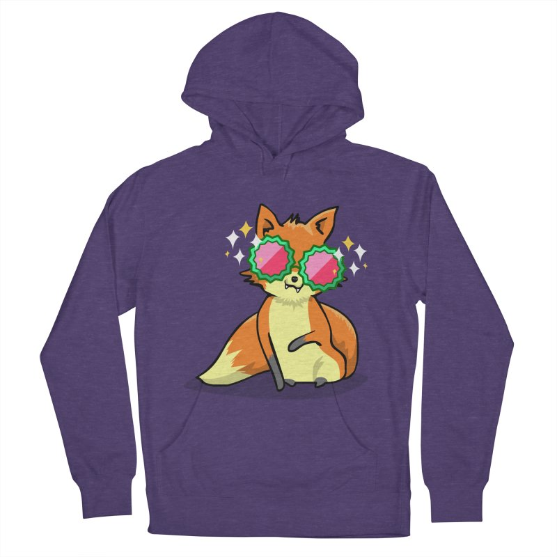 Foxy & Fabulous  Women's Pullover Hoody by anishacreations's Artist Shop